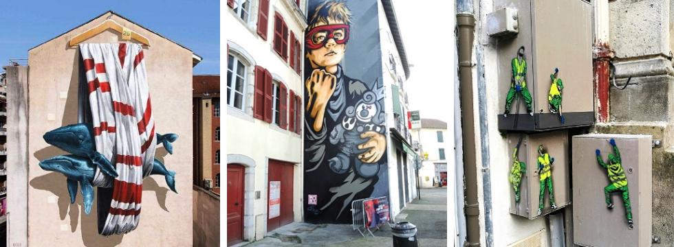 Sortie GEM Street Art Bayonne 18.11.2019