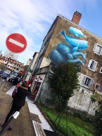 Sortie GEM Street art bayonne18.11.2019