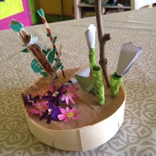 Créativité au GEM - Dites le avec des fleurs
