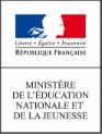 Logo Ministère de l'éduction nationnale et de la jeunesse