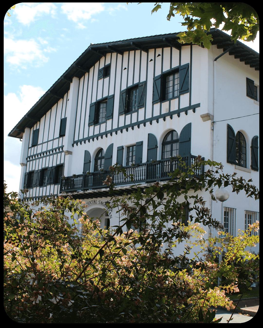 maison accueil sagardian